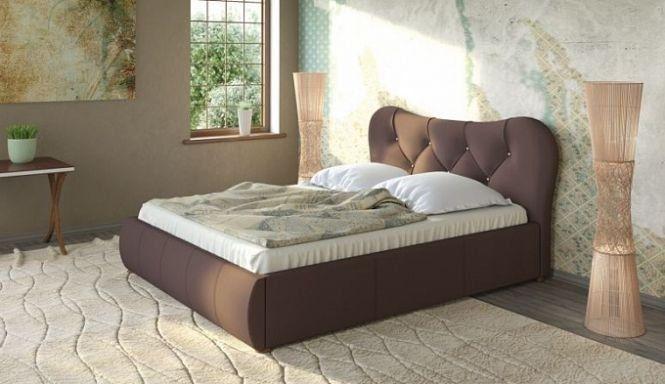 Кровать Лавита шоколад